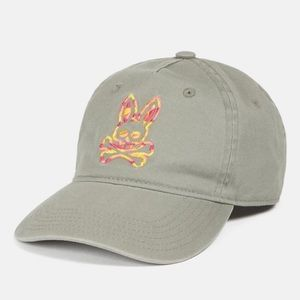 🆕 Psycho Bunny 🐰 Camo Embroidered Hat Shark